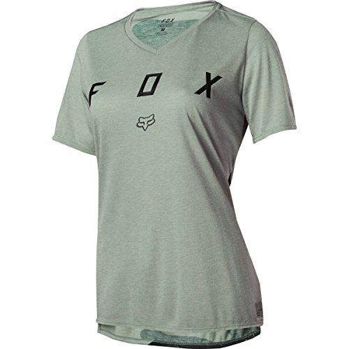 FOX Womens Indicator Ss Mash Camo Jsy, Sage, Größe M (Weiches Gesichter, Klassische T-shirt)