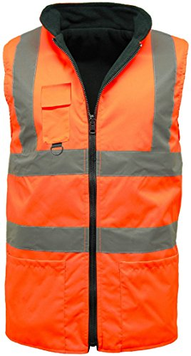 UB Herren Poloshirt Orange - Orange