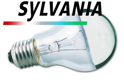 Normallampe 75 Watt E27 230V Kuppenspiegel silber - Sylvania
