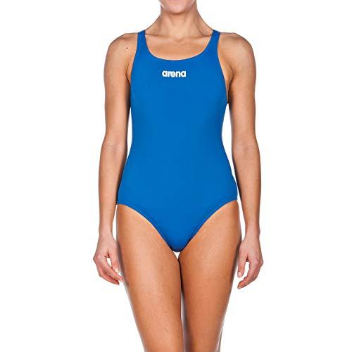 deanzug Solid Swim Pro (Schnelltrocknend, UV-Schutz UPF 50+, Chlorresistent), Royal-White (72), 40 ()