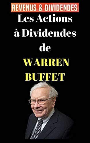Couverture du livre Les actions à dividendes de Warren Buffett