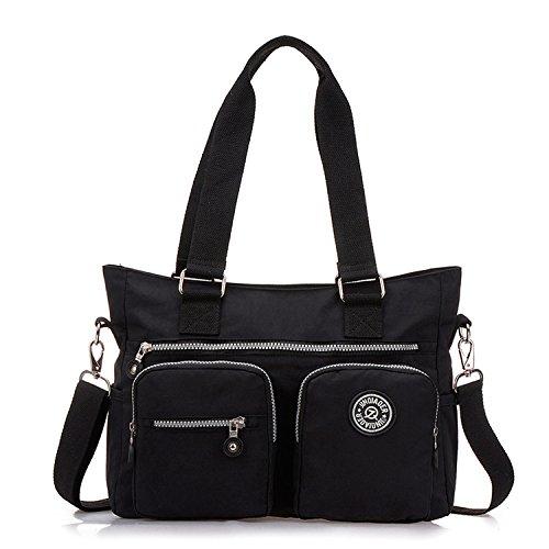 Designer Handtasche Nylon (Outreo Umhängetasche Damen Handtasche Designer Schultertasche Wasserdichte Messenger Bag Mädchen Taschen Strandtasche Sporttasche für Kuriertasche Reisetasche Nylon)