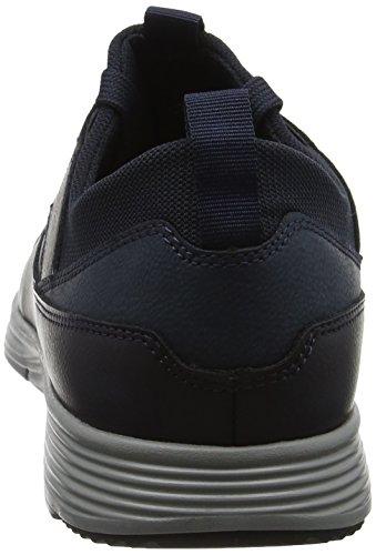 Geox U Snapish A, Sneakers Basses Homme Bleu (Navy)
