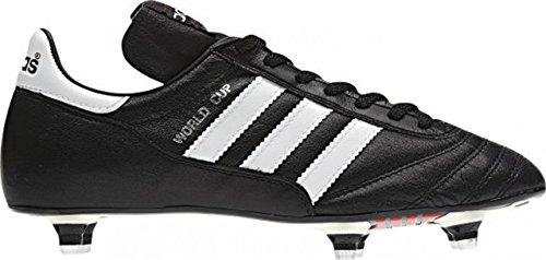 adidas World Cup, Scarpe da Calcio, Unisex Nero (black / ftwr white)