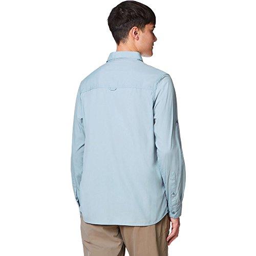 Craghoppers NosiLife Tatton Langarm Hemd Men - Insektengeschütztes Hemd fogle blue