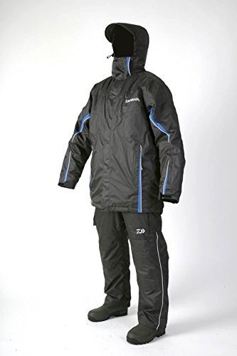 Daiwa Matchwinner Thermo-Anzug, wasserdicht, Mantel und Latzhose L