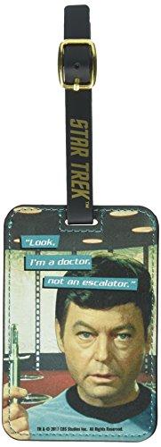 Star Trek - Etiquette de bagage McCoy Graphic