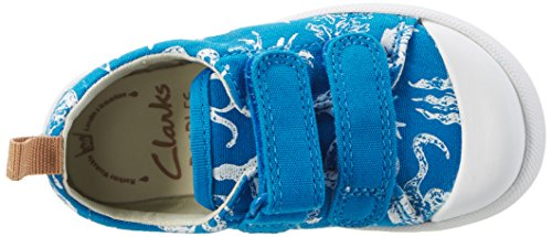 Clarks Halcy High Fst, Scarpe Primi Passi Bimbo Blu (Blue)