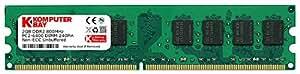 Komputerbay 2GB DDR2 800MHz PC2-6300 PC2-6400 DDR2 800 (240 PIN) DIMM Desktop Memory