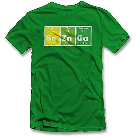 Bazinga Elements T-Shirt S-XXL 12 Colori /