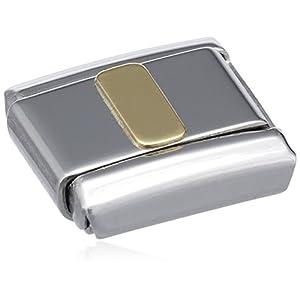 Nomination Composable Classic Buchstaben Edelstahl und 18K-Gold (I) 030101