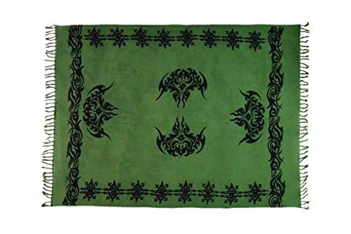 Ca 62 verschiedene Sarong Pareo Wickelrock Strandtuch Handtuch Lunghi Dhoti  Schal Wickelkleid Wandbehang mit Keltischen Muster
