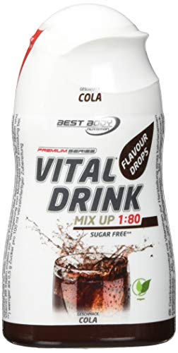 Best Body Nutrition Vital Drink Squeeze (12x48ml) Cola Ohne Pfand, 576 ml (Vitamin Squeeze)