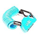 Kitechild Mini Serratura a Combinazione Portatile con Serratura a 3 cifre Password Bike Bicycle Lock Blue