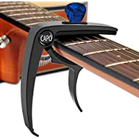 Guitar Capo for 6 String Trigger Single Black