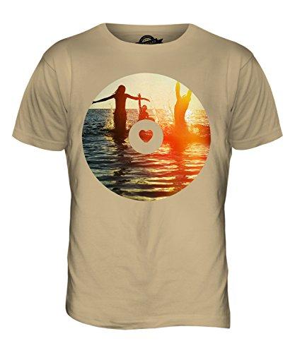 CandyMix Sommer Wellen Herren T Shirt Sand