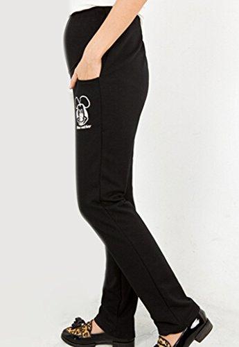 Dehang–Pantalon pour Femme, Noir, Taille S Noir