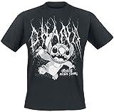 Lilo and Stitch Metal Ohana T-Shirt schwarz XXL