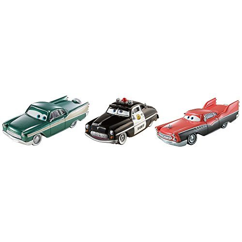 Disney Pixar Cars Set Flashback to Radiator Springs mit Sheriff Derek Dobbs Hank