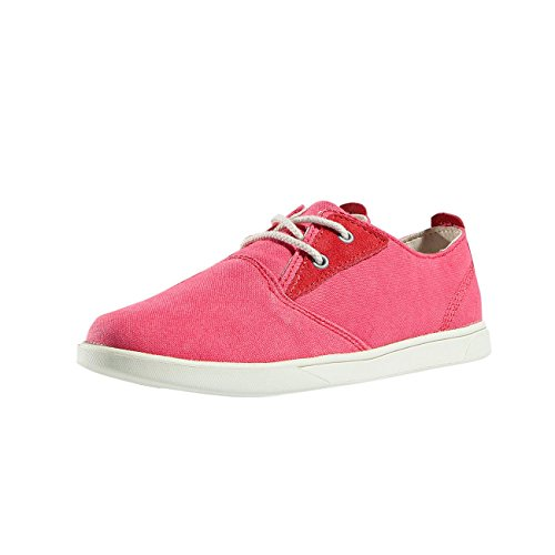 Timberland Donna Scarpe / Sneaker Groveton Canvas Oxford Rosa