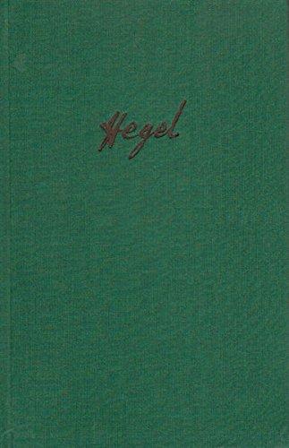 Briefe von und an Hegel / Briefe von und an Hegel. Band 1: 1785-1812 (Philosophische Bibliothek)