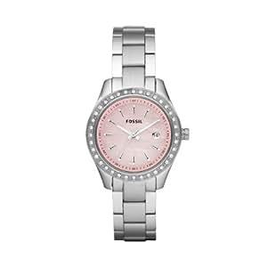 Fossil Damen-Armbanduhr XS Ladies Dress Analog Edelstahl ES2999
