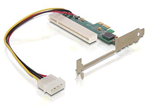 DeLOCK PCI Express x1 - PCI Card 32bit tarjeta y adaptador de interfaz - Accesorio (PCIe, Verde, 4,8 mm, 1,8 mm, Inalámbrico, 1x4pin Molex)