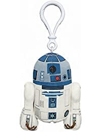 Star Wars Mini Figurine en peluche avec son & Pendentif