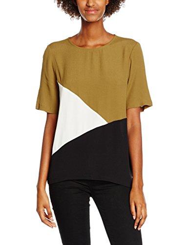 New Look 3893715, T-Shirt Donna Green (Light Khaki)