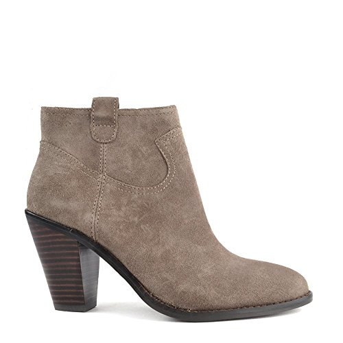 484a31d59bbf70 Ash Shoes Ivana Stone Suede Ankle Boot 40EU 7UK Stone