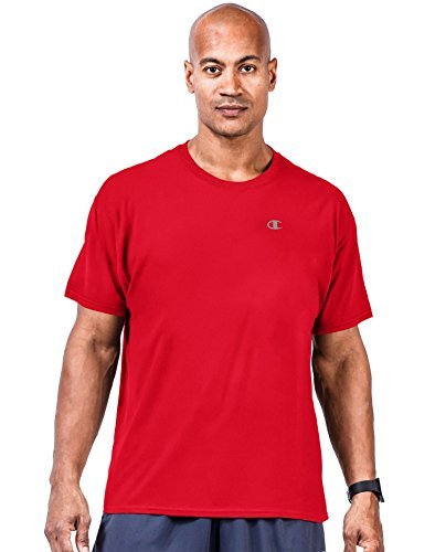 Champion Big & Tall maglia a maniche corte, da uomo Crimson