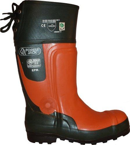 ForestJack  FOREST JACK, Chaussures de sécurité pour homme Vert olive/orange Vert - Vert olive/orange
