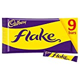 Cadbury Flake Chocolate Bar, 9 x 20g