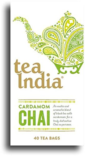 Tea India Cardamom Chai 40bag (Pack of 3)