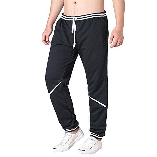 ELECTRI Pantalon décontracté pour Homme,Homme Pantalons de Sport Running Training Pants Slim Cargo Jogging Couleur Uni Combat Fitness Gym