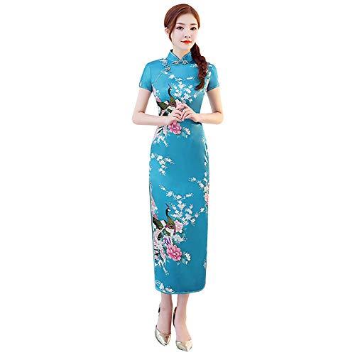 Xinvivion Vestido Chino Cheongsam Mujeres - Vestido