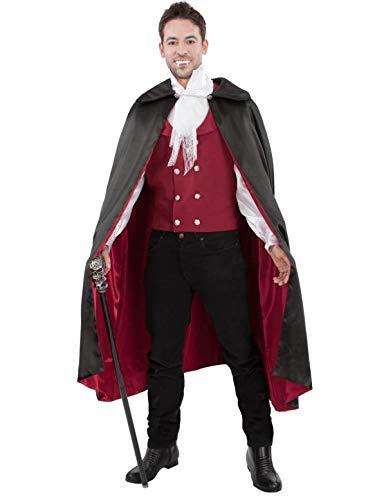 Roter Vampir Halloween Kostüm für Erwachsene Extra ()