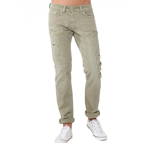 Kaporal Jeans Broz Ivy Green Destroy verde 34 W