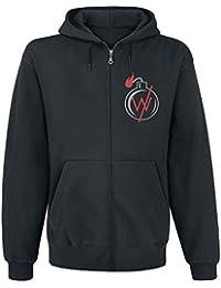 Sleeping With Sirens Sweat-shirt à capuche Bomb band logo nouveau officiel Noir