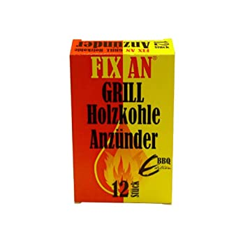 Grill Holzkohle Anznder Fix An 12 Stck Fr Grill Ofen Kamin