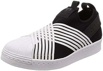 adidas Superstar Slip On W, Scarpe da Ginnastica Donna, Nero (Core Black/Ftwr White/Ftwr White Core Black/Ftwr White/Ftwr White), 35.5 EU