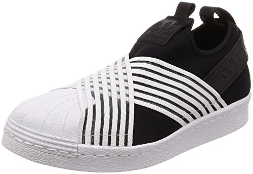 the best attitude d1d35 0345c adidas Superstar Slip On W, Zapatillas para Mujer, Negro (Core Black  Footwear White