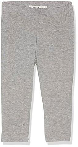 NAME IT Mädchen Nitvivian Capri Legging Nmt Noos Grau (Grey Melange), 128