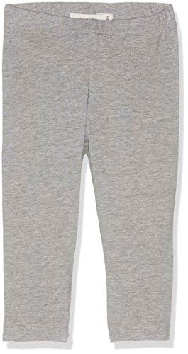 NAME IT Mädchen Legging NITVIVIAN Capri NMT NOOS, Grau (Grey Melange) 140 Bio-capri-leggings