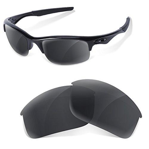 Sunglasses Restorer Lentes de Racambio Polarizadas para Oakley Bottle Rocket Black Iridium