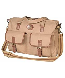 Swiss Military Canvas 11.5 ltrs Beige Messenger Bag (CAN-1)