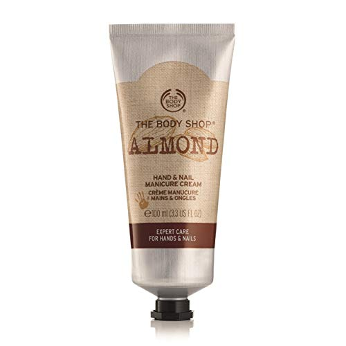 The Body Shop Almond Hand und Nail Cream unisex, Mandel Hand- und Nagelcreme 100 ml, 1er Pack (1 x 100 ml)