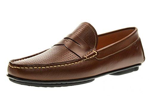 VALLEVERDE chaussures homme mocassins 11831 BROWN brown