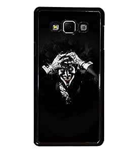 PrintDhaba Joker D-2787 Back Case Cover for SAMSUNG GALAXY A8 (Multi-Coloured)