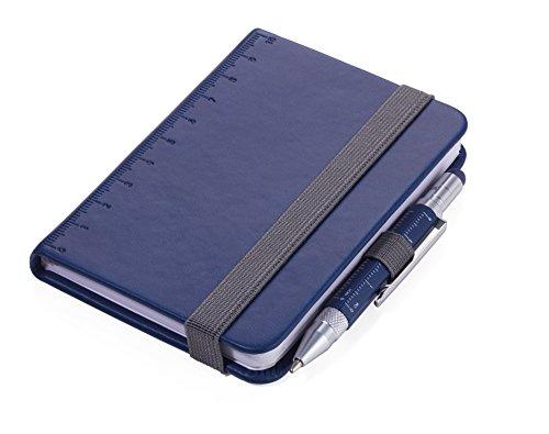 TROIKA NPP25/DB Blau A7 128Blatt Schreibheft